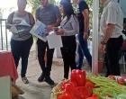 Público asistente a la exposición provincial dedicada a Matanzas, visita el stand del CCRD-C