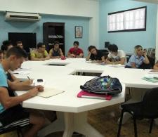 Alumnos asistentes al Taller