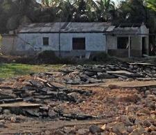 Daños provocados por el huracán Irma en Cárdenas