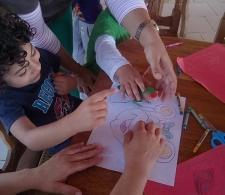 El Programa Flora y Fauna y el Centro de Neurodesarrollo Rosa Luxemburgo ayudan en esta actividad