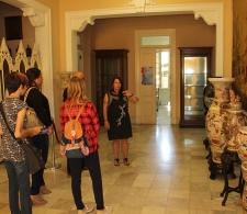 Durante la visita dirigida por el Centro Cultural Dulce María Loynaz