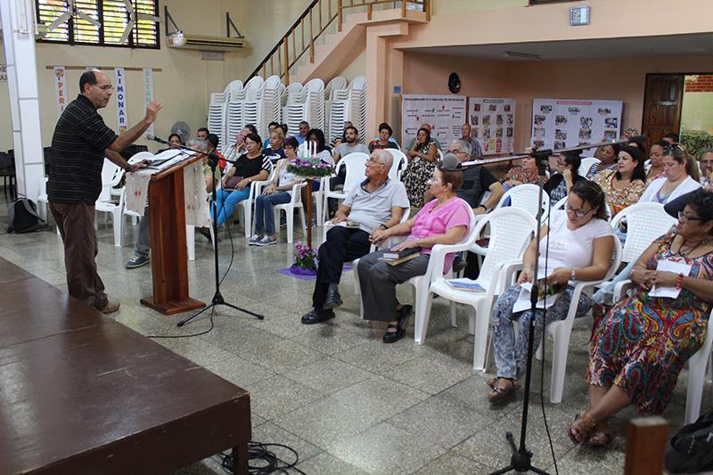 Reflexión pastoral a cargo del Pastor Samuel Hernández
