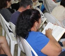Durante la lectura de la palabra