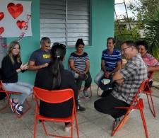 Acción de planificación comunitaria en Zorrilla, Los Arabos