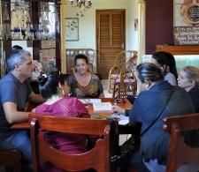 Encuentro con grupo gestor en la comunidad Jovellanos