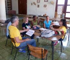 Reunión con líderes de Pedro Betancourt