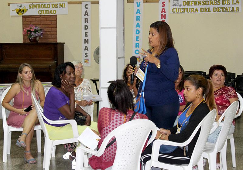Representantes de Matanzas y La Habana, a partir de sus experiencias, aportaron al debate sobre imagen y calidad
