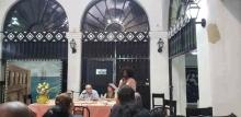 Durante las plenarias del evento