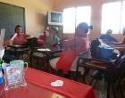 Taller con maestros, comunidad Merceditas