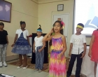Durante representación teatral de una de las obras que se ha llevado a las distintas comunidades