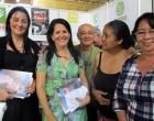 De izquierda a derecha, Mirtha Sánchez, Vicepresidenta de Asamblea del PP, y Ailuj Casanova, Directora Municipal de Salud Pública en Cárdenas