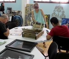 Valoración de las obras concursantes en el IV Salón Cultura de Paz