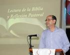 Rev. Samuel Hernández, durante la Reflexión pastoral