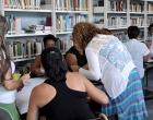 Durante uno de los talleres de capacitación para la prevención de violencias