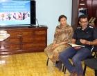 El Lic. Jorge Elías Gil Viant introduce la conferencia