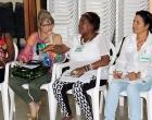 Participantes al taller para mujeres emprendedoras