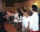 El pastor Samuel Hernández y el coro de la II Iglesia Bautista cerraron esta noche de celebración