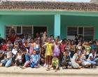 Grupo asistente a la actividad Por la sonrisa de un niño