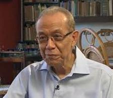 Eduardo Heras León, escritor e intelectual cubano, a quien está dedicada la feria
