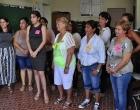 Mujeres empendedoras del proyecto En-Gadi, en Jagüey Grande