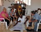 Dinámica de grupo en la comunidad Los Palos, Mayabeque