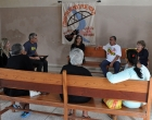 Reunión con líderes comunitarios en Sagua la Grande