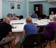 Durante el encuentro