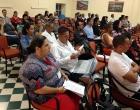 Participantes en el evento durante el Taller sobre Difusión de la ciencia