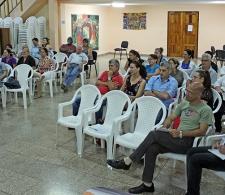 Trabajadores del CCRD-C asistentes a la conferencia