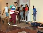 Representación teatral ¨Mataron a Pepe¨, durante la noche de talentos