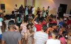 El grupo musical Blend trajo, aparajadas a sus interpretaciones, baile y diversión