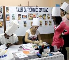 Durante la inscripción de los participantes al taller