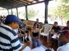 Alfredo Rojas, facilitador del taller, reflexiona sobre negociación y alianzas tácticas