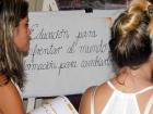 Participantes al taller sobre Economía Doméstica