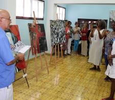 Exposición pictórica en el CID