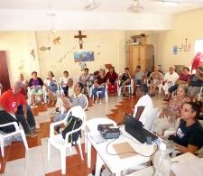 Proyección de audiovisual sobre la reanimación sociocultural
