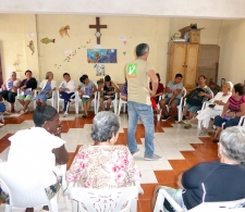 Reflexión grupal sobre la atención a grupos vulnerables
