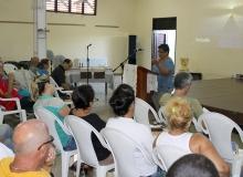 Isis Ruiz, especialista de la Pastoral para la Reflexión y el Diálogo, evocó las temáticas tratadas durante este mes