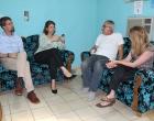 Representantes de embajada de Holanda en su visita a Consejería Pastoral
