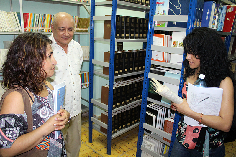 En el Centro Cultural de Información y Documentación