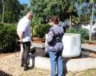 La práctica agroecológica que se desarrolla en la Finca El Retiro interesó a Dr. Dawid Danilo Bartelt