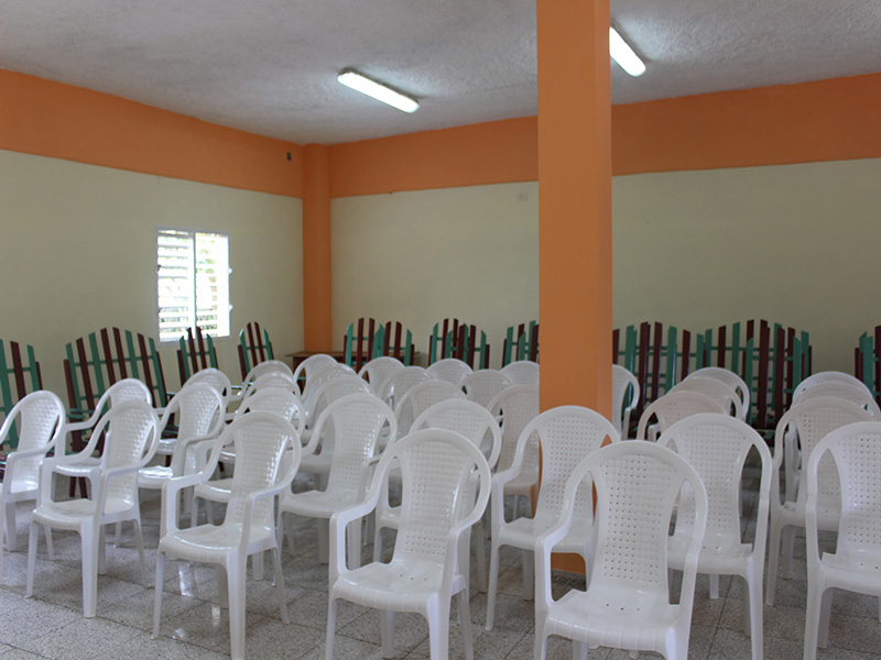 Aula Finca el Retiro CCRD-Cuba