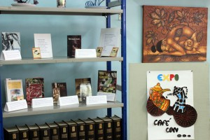 Inauguración de la exposición literaria Café con… 1