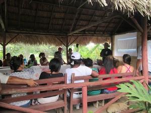 Cierre del taller Buenas Prácticas Agroforestales 1