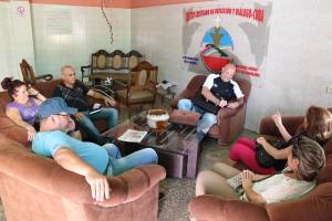 Microempresarios participantes en el taller