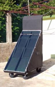 Secador solar de la Finca El Retiro