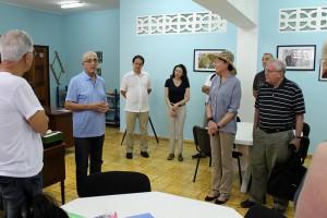 Rev. Raimundo García Franco y miembros de Junta Directiva de Acción