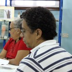 2 MANUEL NAVEA Y LORENA MARTÍNEZ DURANTE LA PRESENTACIÓN DEL LIBRO