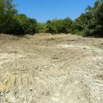3 Práctica de piscicultura en la Finca El Retiro. Dragado del estanque