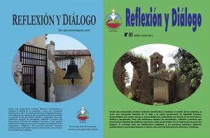 Cubiertas de las Revistas Reflexión y Diálogo 50 y 51